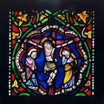 Acquisition of stained glass windows from the Church of the Dominicans for the Cathedral Workshop Museum. Photo : City of Strasbourg Museums, M. Bertola.